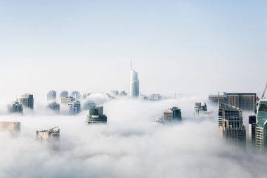 Yello Stack – View of Cityscape